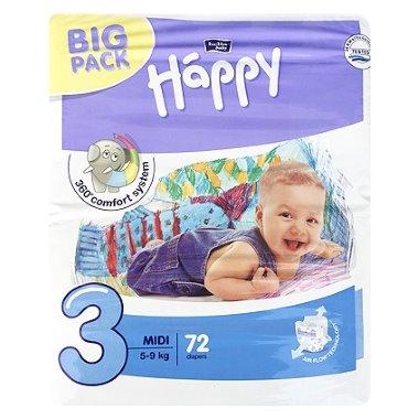 Bella Happy nadrágpelenka midi 72 darabos