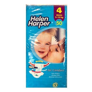 Helen Harper nadrágpelenka maxi, 4-es, 9-18 kg, 50 db, Air Comfort