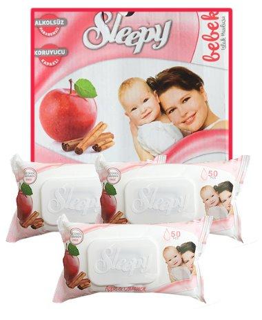 Sleepy popsitörlő pack alma-fahéj