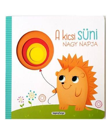 A kicsi  süni nagy napja könyv