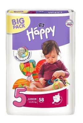 Bella Happy nadrágpelenka junior 58 darabos