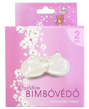 Szilikon bimbóvédő szoptatáshoz, 2 db-os