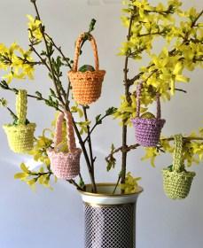 Húsvéti dekoráció - kosárkák