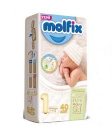 Molfix nadrágpelenka újszülött 2-5 kg    40 darabos