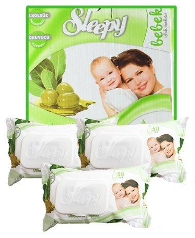 Sleepy popsitörlő pack oliva-daphne