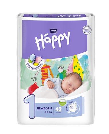 Bella Happy nadrágpelenka újszülött 42 darabos