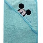 Mickey frottír kapucnis fürdőlepedő