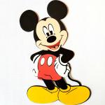 Mickey öntapadós dekoráció