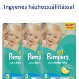 Pampers Junior ingyenes házhozszállítással