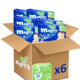 Magics midi prémium 6x31 db akciós pack