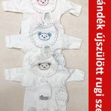 Kórházi csomag Ajándék újszülött rugdalózó szettel!