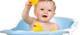 A baba fürdetése