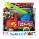 Tűzoltó autós bébi játék , Fire Engine  18+