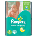 Pampers active baby-dry midi