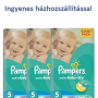 Pampers Junior ingyenes házhozszállítással